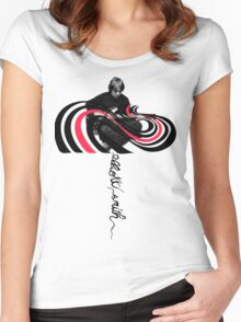 Color Bars (Elliott Smith) Women's Fitted Scoop T-Shirt