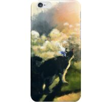 Cat and Fairy iPhone Case/Skin