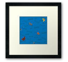 Butterflies for Anna Framed Print