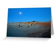 Lunar Light Greeting Card