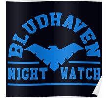 Batman - Bludhaven Blue Poster