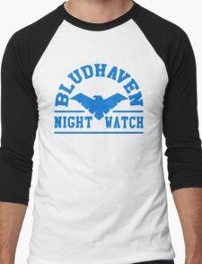 Batman - Bludhaven Blue Men's Baseball ¾ T-Shirt