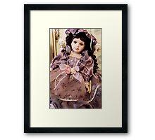 Karis - China Doll Framed Print