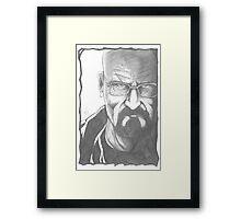 Mr Heisenberg Framed Print