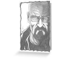 Mr Heisenberg Greeting Card