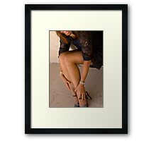 Of High-heeled Shoes, Pearls & Laces Framed Print