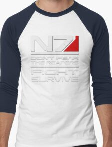 Mass Effect - Don't fear the Reapers Men's Baseball ¾ T-Shirt
