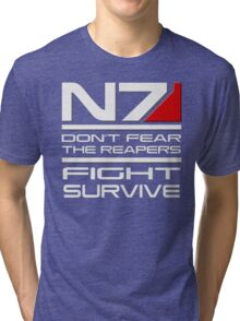 Mass Effect - Don't fear the Reapers Tri-blend T-Shirt
