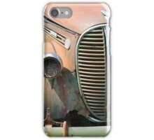 Vintage Truck With Broken Light iPhone Case/Skin