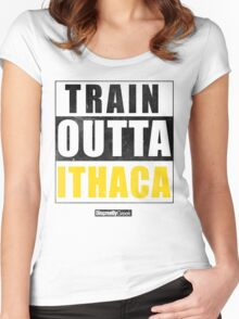 Straight Outta Parody Version 2 Women's Fitted Scoop T-Shirt