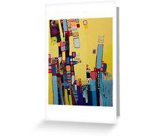 City life II. Greeting Card