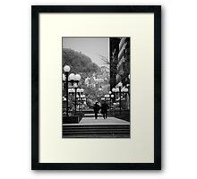 Castle on a Hill Framed Print