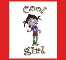 cool girl Kids Tee