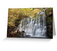 Scale Haw Falls - Hebden Greeting Card