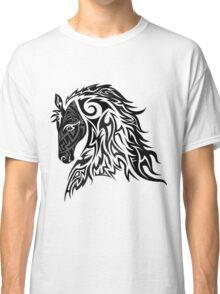Tribal Tattoo Style Horse Classic T-Shirt