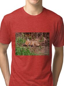 Fox Kit 9 Tri-blend T-Shirt