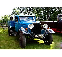 Fordson Truck  142 XUB Photographic Print