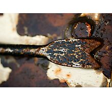 Rusted Camouflage Photographic Print