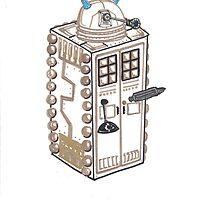 Dalek T.A.R.D.I.S. by SteveHanna