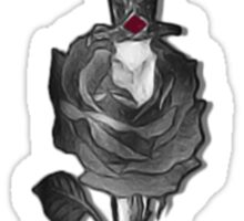 Rose and Dagger Sticker