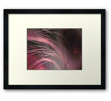 RAYS OF HOPE BREAST CANCER AWARENESS MONTH Framed Print