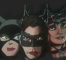Catwomen - TAS, Dark Knight & Arkham by MaximusIs1st