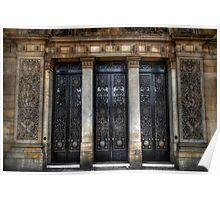 Grand Door - Leeds Town Hall Poster