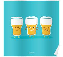 three wise pints Poster