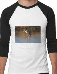 Sunset Female Jabiru Men's Baseball ¾ T-Shirt