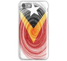 East Timor Twirl iPhone Case/Skin