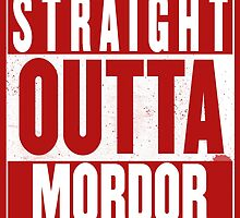 STRAIGHT OUTTA MORDOR by Harry James Grout