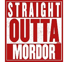 STRAIGHT OUTTA MORDOR Photographic Print
