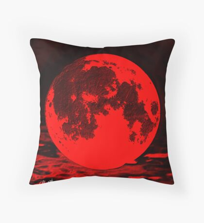 IMPACT!! THAT OLD DEVIL MOON 40'S & 50'S PICTURES FROM MAGAZINES. Throw Pillow