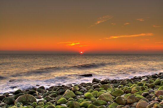 Sunset at Alestaner Skane, Sweden by Prashant Panigrahi