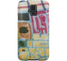 Map of Marks and Blocks Samsung Galaxy Case/Skin