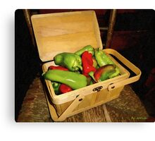 Emmy's Peppers Canvas Print