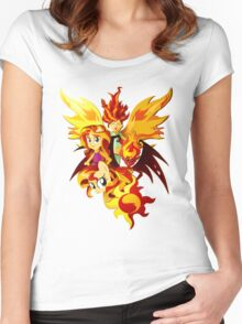 Sunset Shimmer Women's Fitted Scoop T-Shirt