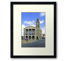 The Guild Hall, Newport Framed Print