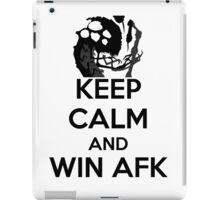 AFK WIN iPad Case/Skin