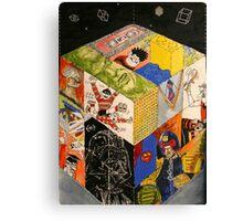 Eighties Trouble Canvas Print