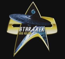 StarTrek USS Kelvin Com badge by ratherkool