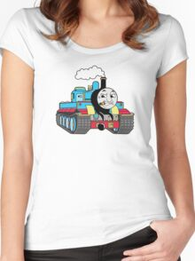Thomas the Tank Women's Fitted Scoop T-Shirt