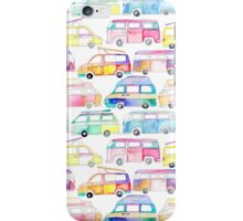 Pastel Campervans iPhone Case/Skin