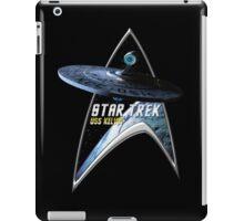 StarTrek Command Silver Signia USS Kelvin iPad Case/Skin