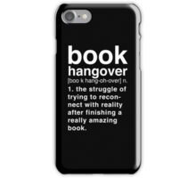 Black Book Hangover Meaning iPhone Case/Skin