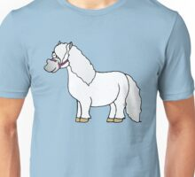 Blue Belle the Mini Shetland Pony Unisex T-Shirt