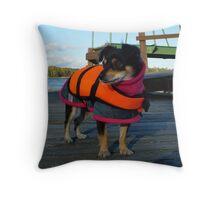 Ship ahoy! Throw Pillow