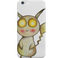 Creepy Pikachu iPhone Case/Skin