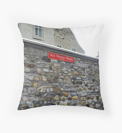 Rue Ouest Throw Pillow