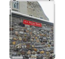 Rue Ouest iPad Case/Skin